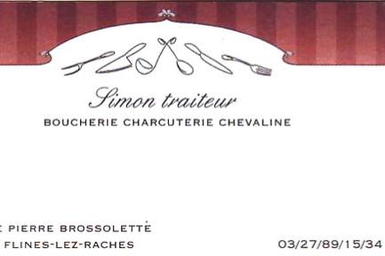 Boucherie Simon